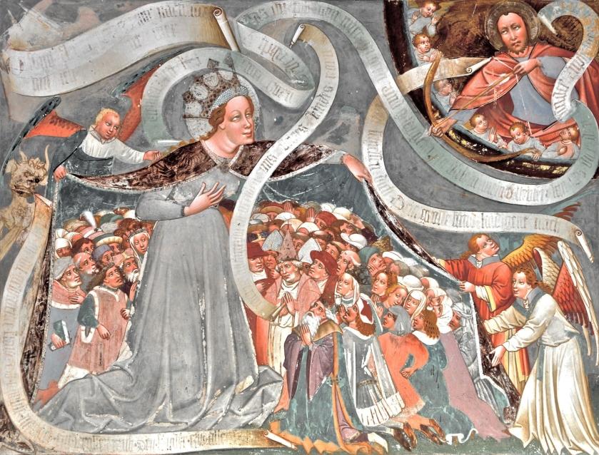 Thomas von Villach, Madonna della Misericordia (XV sec). Chiesa di Gerlamoos, Steinfeld (Austria)